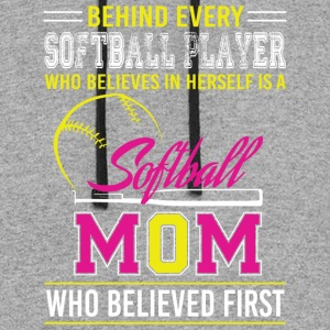 Softball Mom T Shirt - Colorblock Hoodie