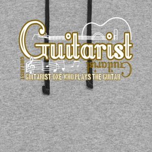 BLACK GUITARIST T SHIRT - Colorblock Hoodie