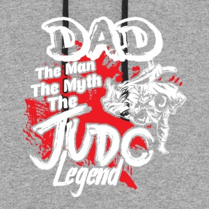 DAD THE JUDO LEGEND SHIRT - Colorblock Hoodie