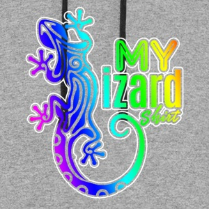 MY LIZARD SHIRTS - Colorblock Hoodie