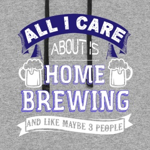 Home Brewing Shirt - Colorblock Hoodie
