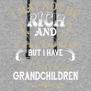 I Have Priceless Grandchildren T Shirt - Colorblock Hoodie