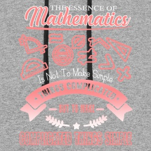 The Essence Of Mathematics Shirt - Colorblock Hoodie