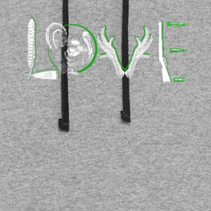 Love Turkey Shirt - Colorblock Hoodie