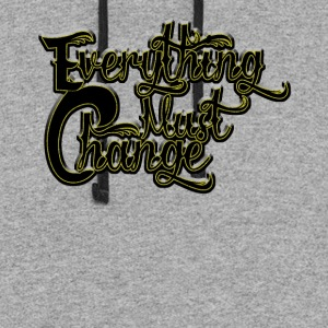 EVERYTHING MUST CHANGE 03 - Colorblock Hoodie
