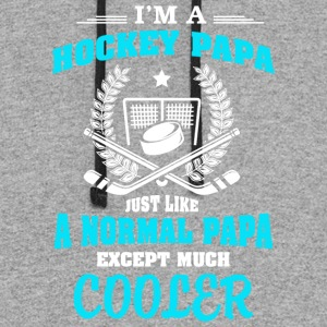 I'm A Hockey Papa T Shirt - Colorblock Hoodie