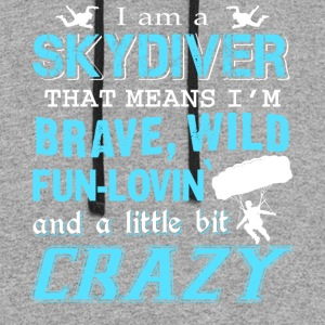 I Am A Skydiver T Shirt - Colorblock Hoodie