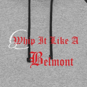 Castlevania Whip It Like A Belmont - Colorblock Hoodie