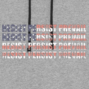 Resist Persist Prevail - Colorblock Hoodie