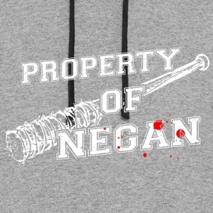 Property of Negan T Shirt - Colorblock Hoodie