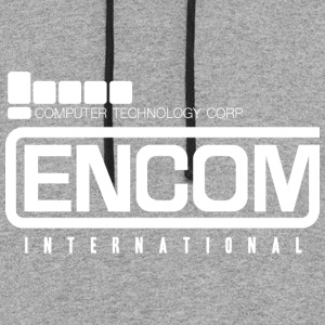 Encom International T Shirt - Colorblock Hoodie