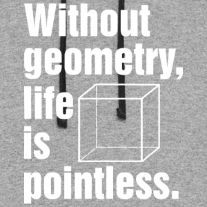 Without geometry life is pointless T Shirt - Colorblock Hoodie