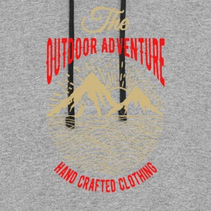 The outdoor adventure - Colorblock Hoodie