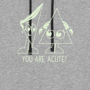 You Are Acute - Colorblock Hoodie