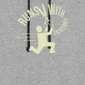 Runs With Scissors - Colorblock Hoodie