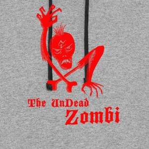 The undead zombi - Colorblock Hoodie