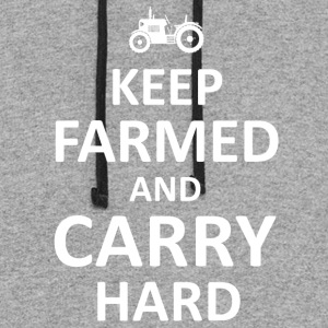 Keep Farmed T Shirts - Colorblock Hoodie