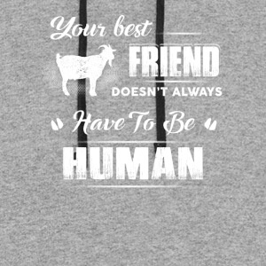 Your best friend T-Shirts - Colorblock Hoodie