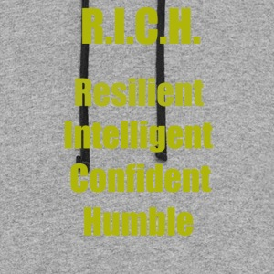 R.I.C.H. (Gold) - Colorblock Hoodie