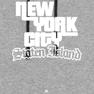 NYC: Staten Island - Colorblock Hoodie