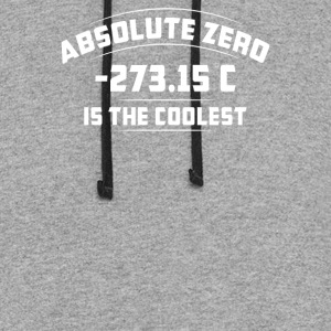 Absolute Zero Is The Coolest - Colorblock Hoodie