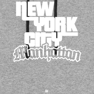 NYC: Manhattan - Colorblock Hoodie