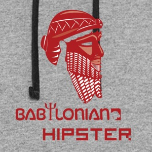 Babylonian Hipster - Colorblock Hoodie