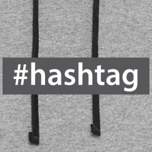hashtag - Colorblock Hoodie