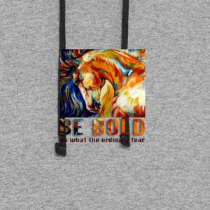 Be bold - Colorblock Hoodie