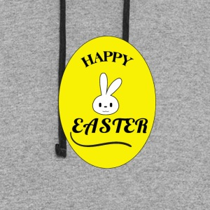 Happy Easter - Colorblock Hoodie