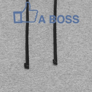 Like A Boss - Colorblock Hoodie