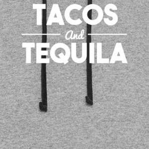 Tacos and tequila - Colorblock Hoodie