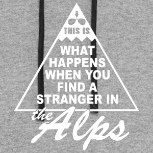 Stranger in the Alps - Colorblock Hoodie