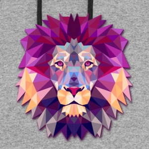 Lion Abstract - Colorblock Hoodie