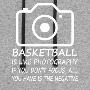 Basketball-Like Photography-cool shirt,geek hoodie - Colorblock Hoodie