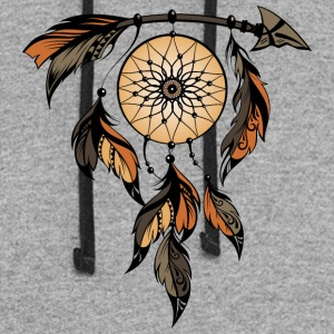 Dreamcatcher Feathers Arrow - Colorblock Hoodie