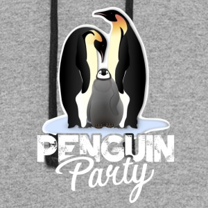 Penguin Party Clothes - Colorblock Hoodie