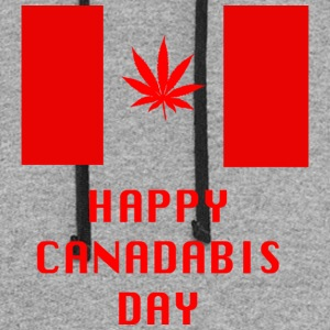 Happy Canadabis Day - Colorblock Hoodie