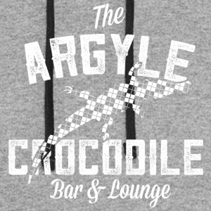 Argyle Crocodile T Shirt - Colorblock Hoodie