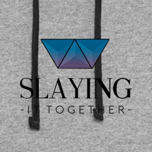 Slaying It Together - Colorblock Hoodie