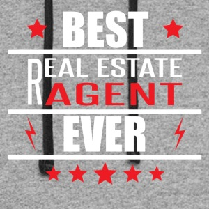 Best Real Estate Agent Ever - Colorblock Hoodie