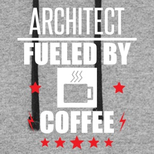Architect Fueled By Coffee - Colorblock Hoodie