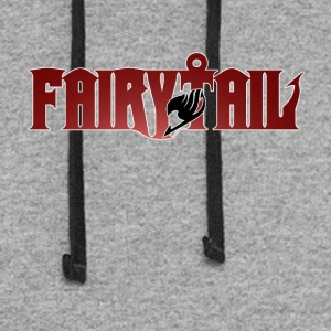 Fairy Tail TV Anime Logo T-Shirt Hoodies - Colorblock Hoodie