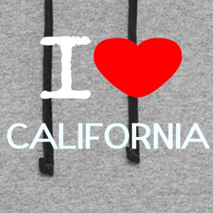 I LOVE CALIFORNIA - Colorblock Hoodie