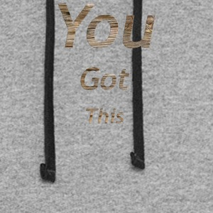 You got this - Colorblock Hoodie