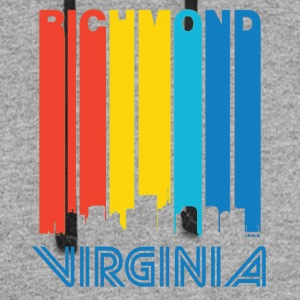 Retro Richmond Skyline - Colorblock Hoodie