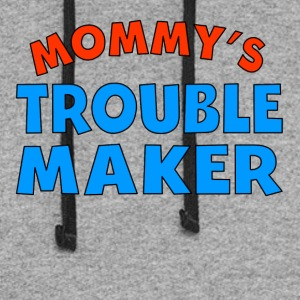 Mommy's Trouble Maker - Colorblock Hoodie