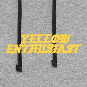 yellow enthusiast - Colorblock Hoodie