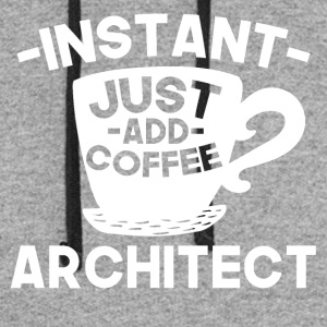 Instant Architect Just Add Coffee - Colorblock Hoodie