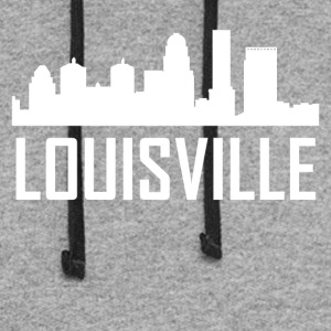 Louisville Kentucky City Skyline - Colorblock Hoodie